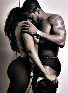 Sexy naked black couples