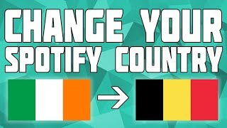 How to change country in spotify app