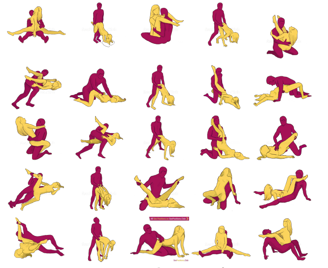 Sexual positions to try